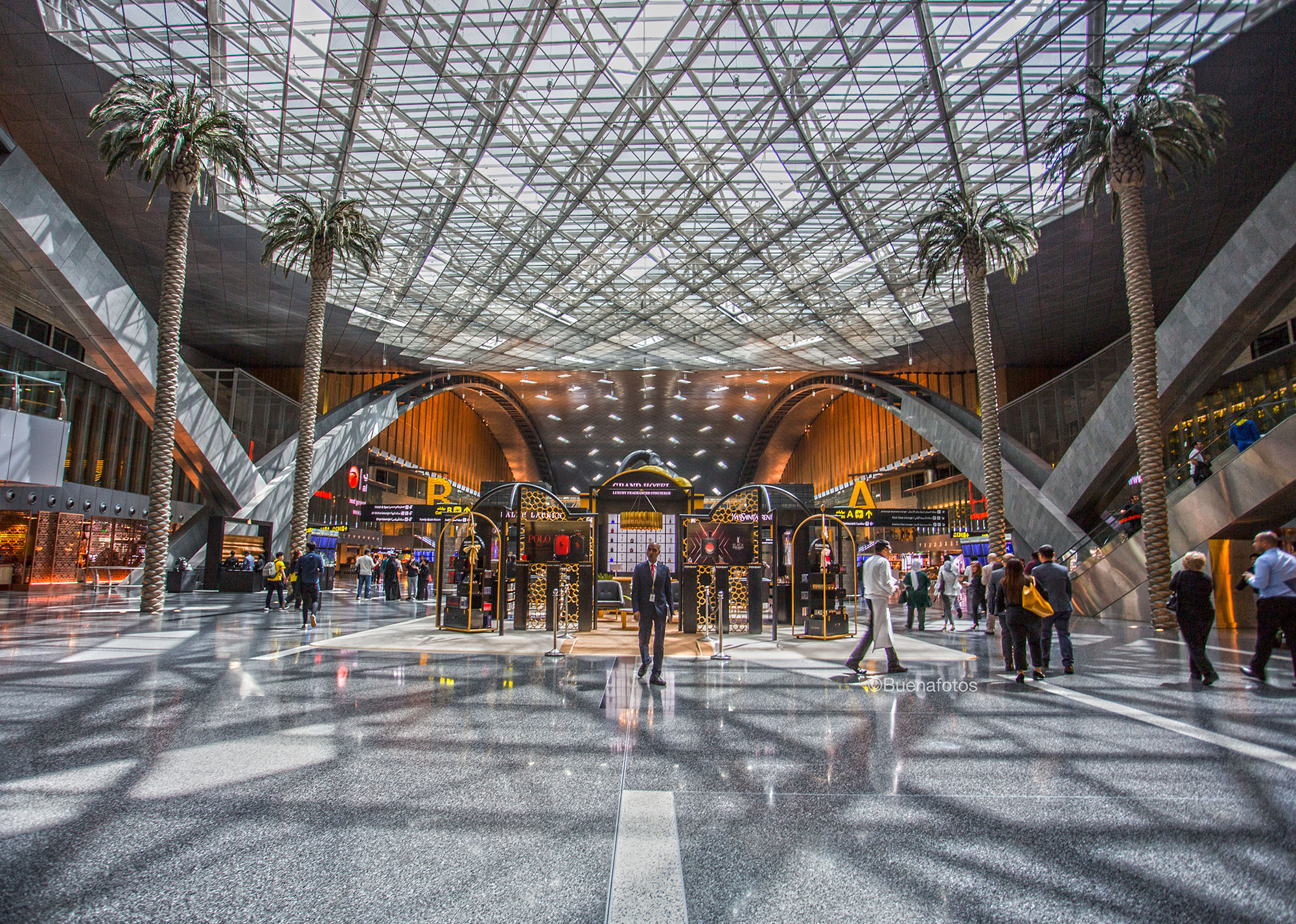 Hamad International Airport -QDF by Buenafotos