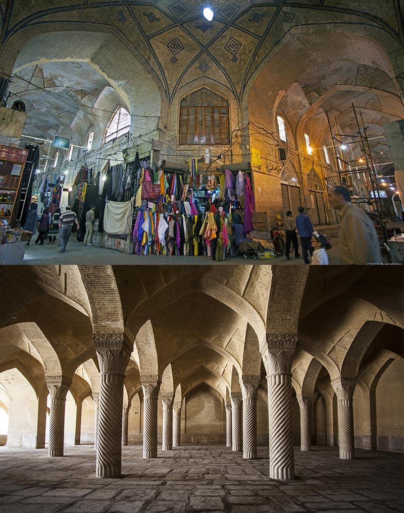 Vakil Bazaar and Mosque
